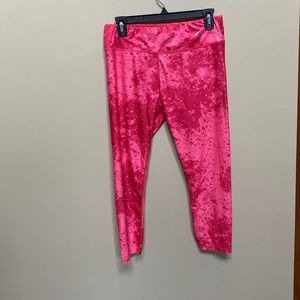 LA Gear stretch workout bottoms size L